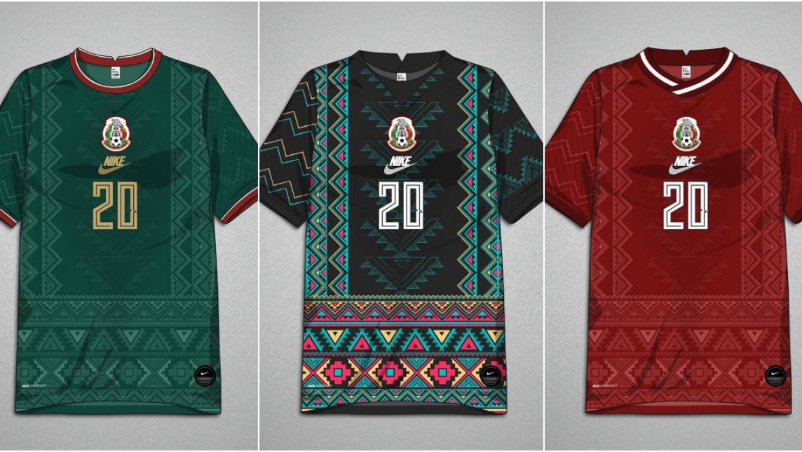 Diseños ZAPOTECOS en el Uniforme de la Selección Mexicana