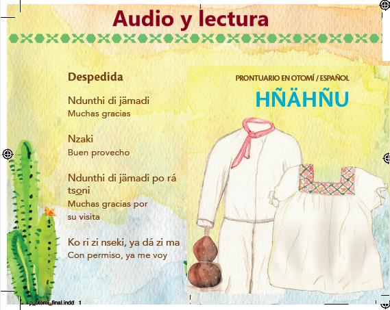 Escucha 15 frases de CORTESÍA en hñähñu (otomí del Valle del Mezquital)