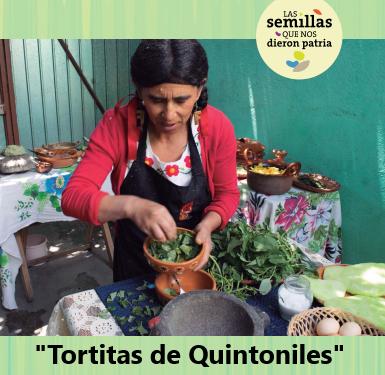 Tortitas de Quintoniles