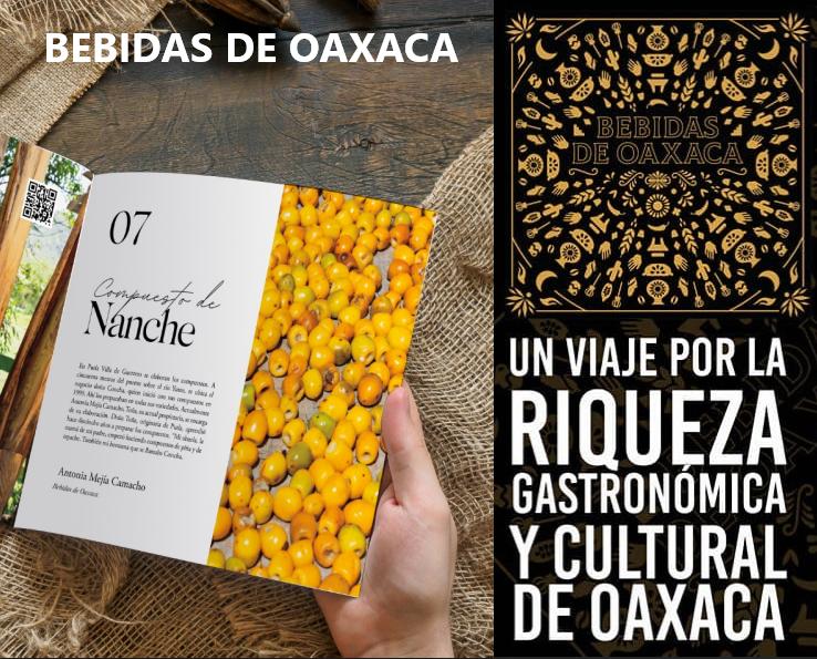 Descubre en el libro «Bebidas de Oaxaca» 72 BEBIDAS TRADICIONALES que deberías probar
