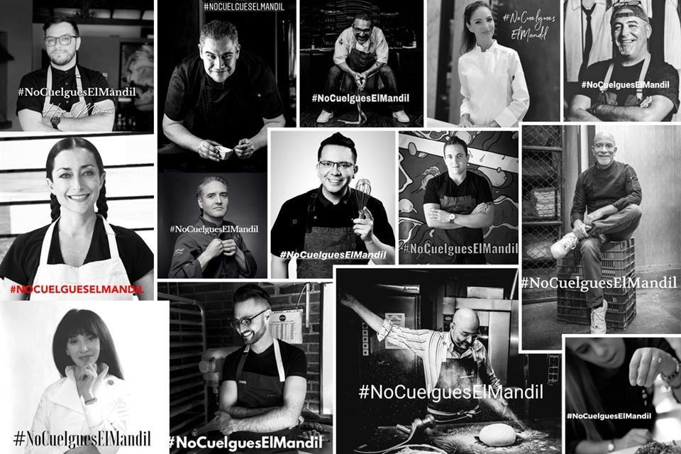 Atención cocineros: » # NoCuelgesElMandil» es el llamado solidario de resistencia de Patrick CROS ¡Conócelo y únete!