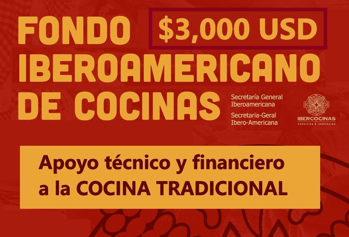 Convocatoria: «Apoyo Técnico y Financiero a la COCINA TRADICIONAL ante crisis del COVID-19»