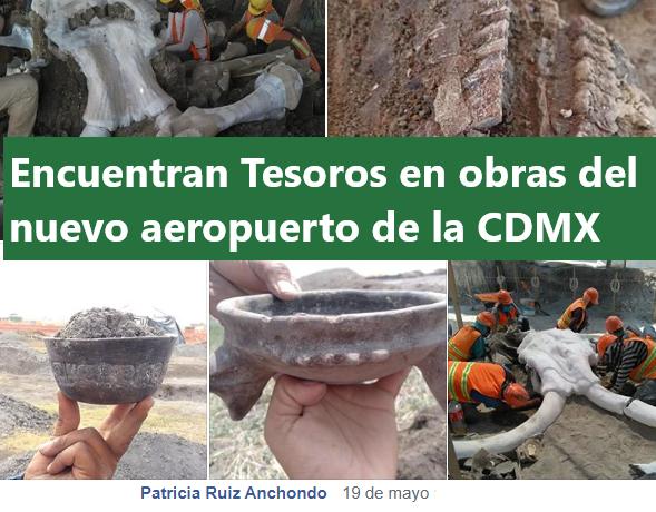 Encuentran TESOROS arqueológicos en las obras del aeropuerto Felipe Ángeles en Santa Lucía, CDMX.
