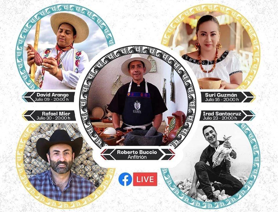 CONVERSATORIOS  «Regresando a nuestras raíces alimentarias» por Facebook Live.