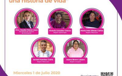 WEBINAR «Cocineras tradicionales de Michoacán una historia de vida» en Vivo por Zoom