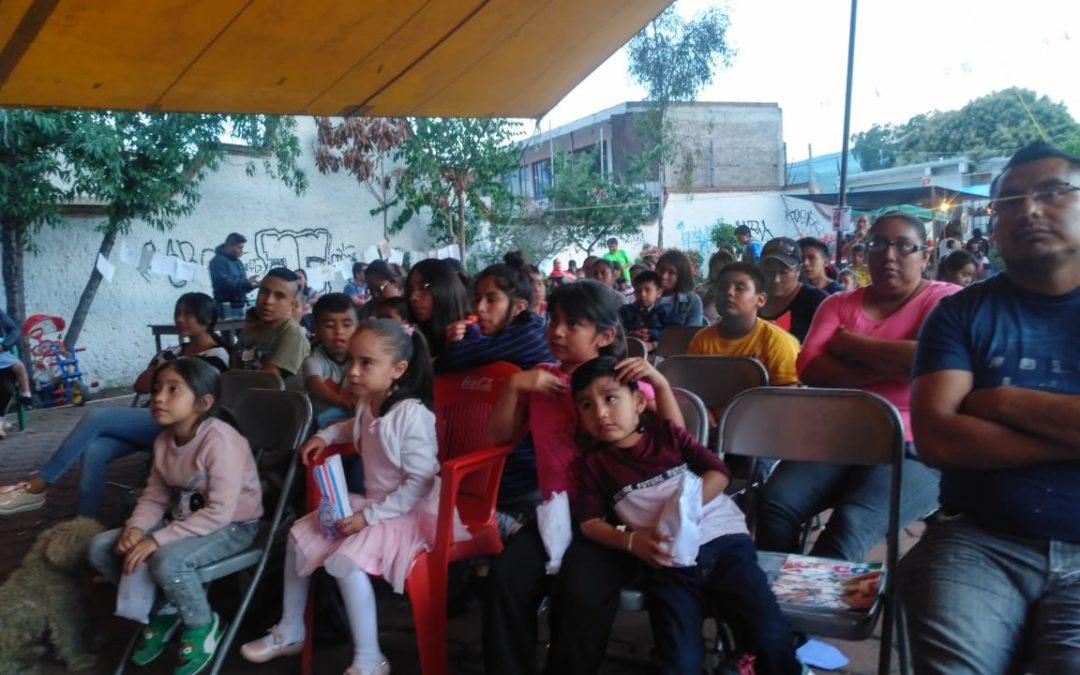 Cine Móvil Tlacuache; una propuesta de cineclub itinerante en el sureste de la Ciudad de México.