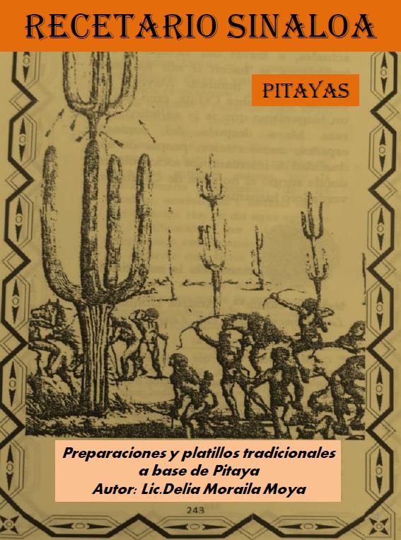 E-Book «Recetario sinaloense de platillos tradicionales a base de PITAYA» en pdf