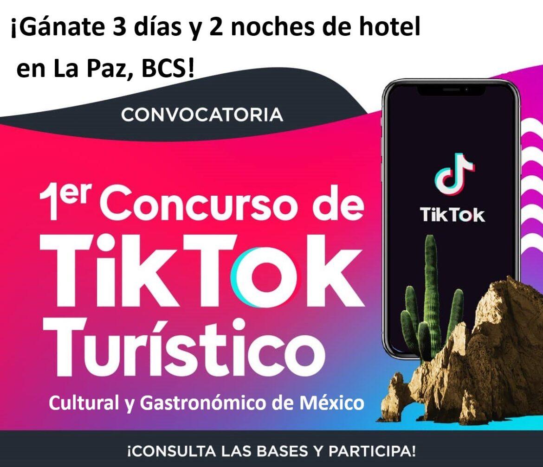 #VisitaBCS ¡Participa en el primer concurso turístico TikTok, y vete de vacaciones a Baja California Sur! Consulta las bases:
