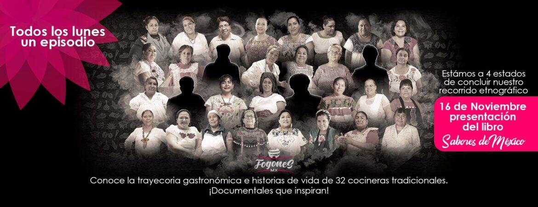 «Sabores de México» el libro que reunirá 320 Recetas y 60 Cocineras Tradicionales. Conoce los detalles: