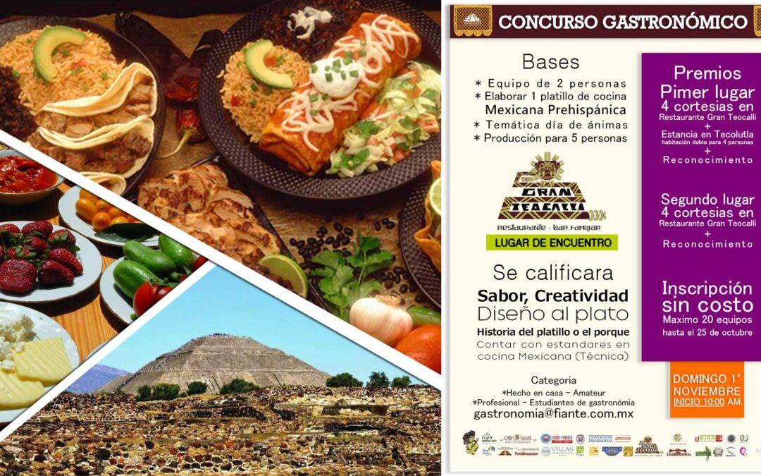 Concurso Gastronómico de Cocina Mexicana Prehispánica en la Fiesta de las Ánimas